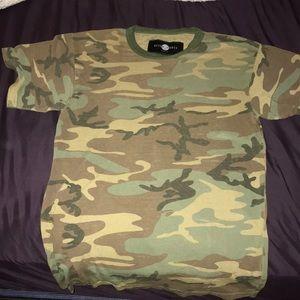 Nasty Gal camo shirt